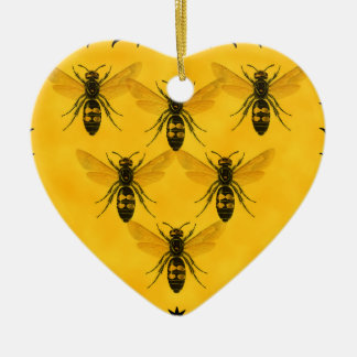 Love the Bug: Yellow Jacket Squadron Ceramic Ornament