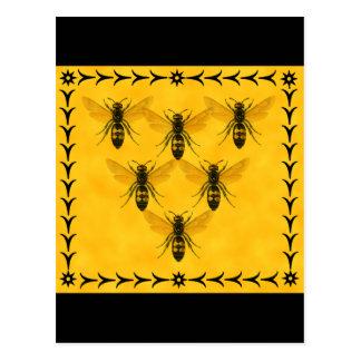 Love the Bug: Yellow Jacket Squadron Postcard
