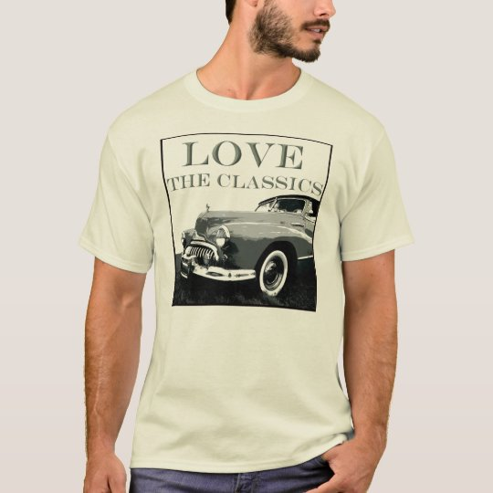 Love The Classics-Autos T-Shirt