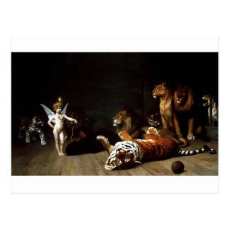 Love the Conqueror by Jean-Leon Gerome Postcard