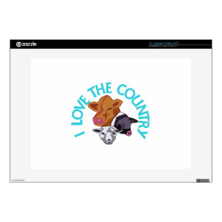 """Love the Country 15"""" Laptop Decal"""