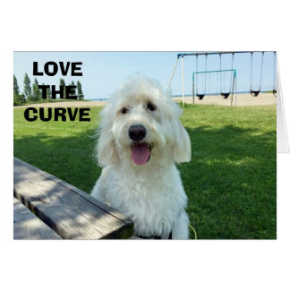 LOVE THE CURVE OF YOUR BEAUTIFUL SMILE CARD