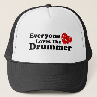 Love The Drummer Trucker Hat