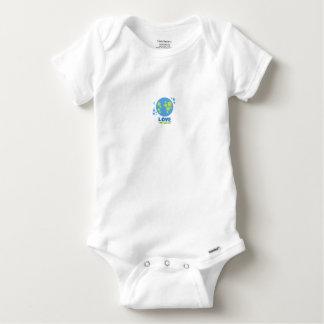 Love The Earth Babies (0-3 Mo.) Baby Onesie