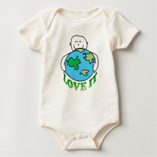 Love the Earth Baby Bodysuit