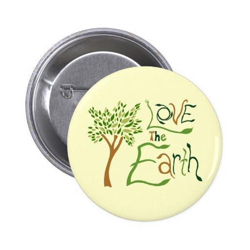 Love the Earth Button