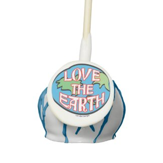 Love the Earth Day Cake Pops