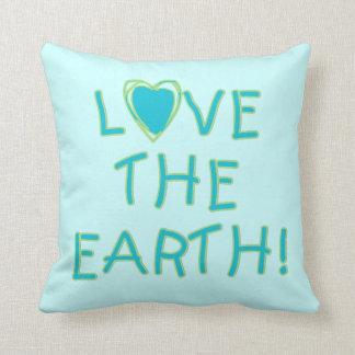 Love the Earth Environmental Throw Pillow