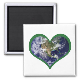 Love the Earth (Green) Magnet