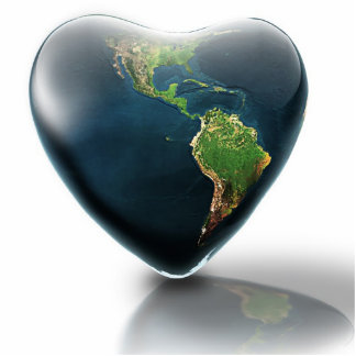 Love The Earth Photo Sculpture
