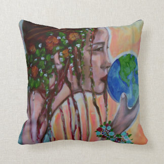 love the earth pillow