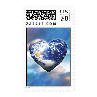 Love the Earth Stamp