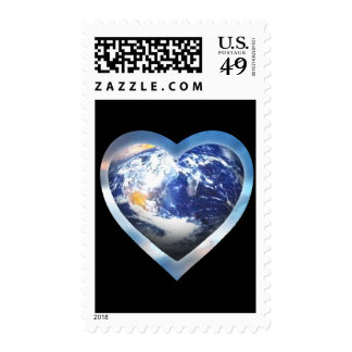 love the earth stamps