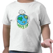 Love the Earth Tees and Gifts zazzle_shirt
