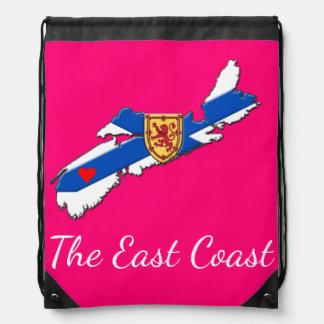 Love The East Coast Heart N.S. bag pink