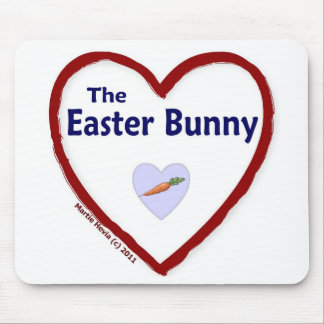 Love The Easter Bunny Mouse Pad