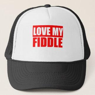 Love The Fiddle Trucker Hat