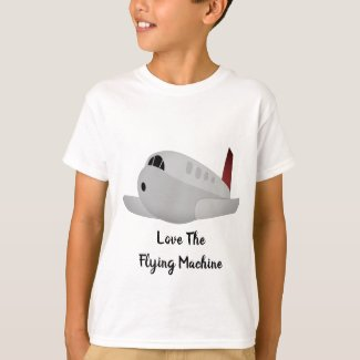 Love The Flying Machine T-Shirt