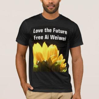 """""""Love the Future - Free Ai Weiwei"""" T-Shirts"""