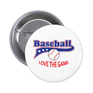LOVE THE GAME 2 INCH ROUND BUTTON