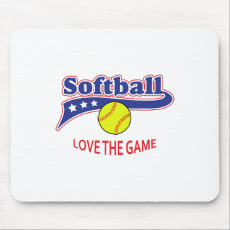 LOVE THE GAME MOUSE PAD