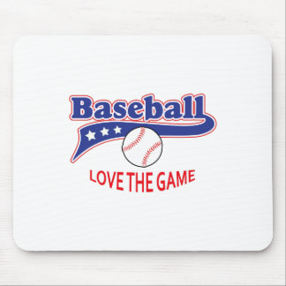 LOVE THE GAME MOUSE PADS