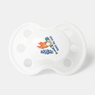LOVE THE GAME BooginHead PACIFIER