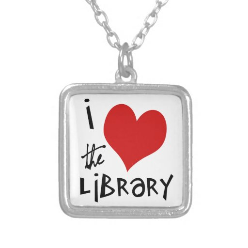 Love the Library Necklace