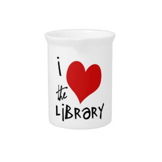 Love the Library Pitchers