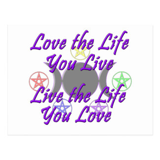 Love the Life You Live Postcards