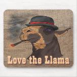 Love the Llama - Mousepad