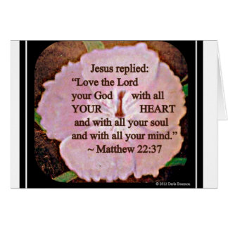 Love the Lord Greeting Card