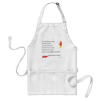 Love the Lord your God Apron
