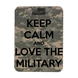 Love the Military Magnet