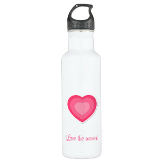 Love the moment water bottle