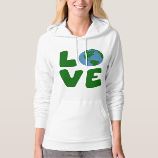 Love the Mother Earth Planet Hoodie