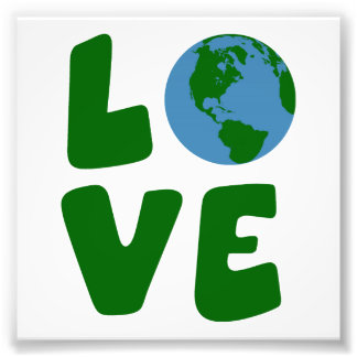 Love the Mother Earth Planet Photo