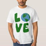 Love the Mother Earth Planet Shirt