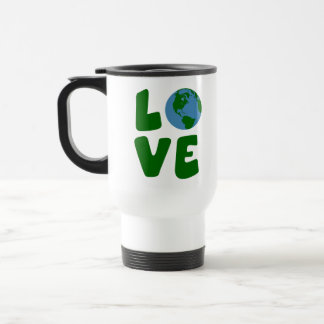 Love the Mother Earth Planet Travel Mug