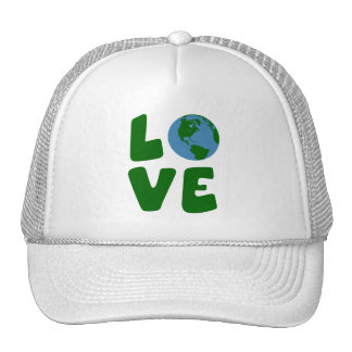 Love the Mother Earth Planet Trucker Hat