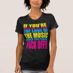 Love The Music (3Colour) Tshirt