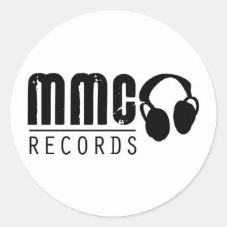 Love the Music, Stick to the Sound Classic Round Sticker