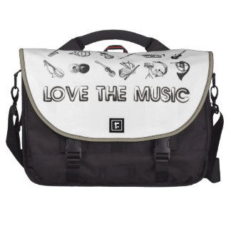 Love the music with these musical instruments laptop bags