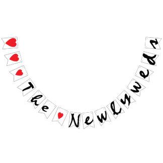 """LOVE"" THE NEWLYWEDS Wedding Sign Decor"