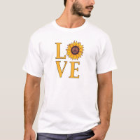 Love the Peaceful Sunflower T-Shirt