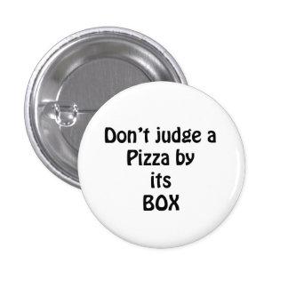love the pizza pinback button