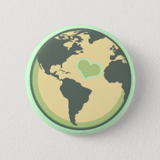 Love the Planet Earth Day Pinback Button
