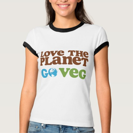 Love the Planet Go Veg T-Shirt