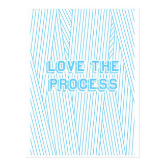 Love the Process Postcard