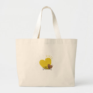Love The Ratio Large Tote Bag